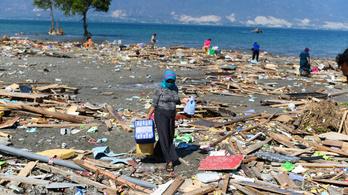 Már 1200 felett jár az indonéz cunami áldozatainak száma