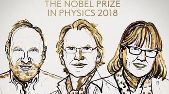 55 év után női Nobel-díjas fizikában