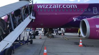 Verekedés tört ki hétfő este a Wizz Air Bázel-Budapest járatán