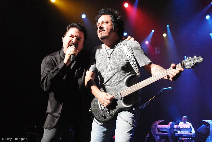 Bobby Kimball és Steve Lukather 2008-ban