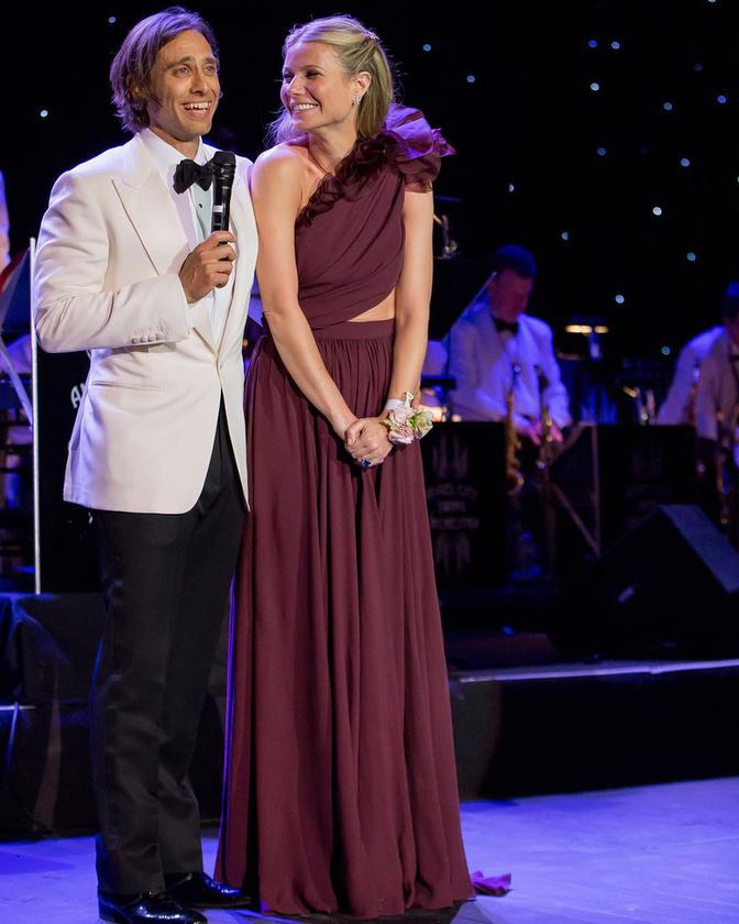 Íme egy kép Gwyneth Paltrow-ról és férjéről, a producer Brad Falchukról