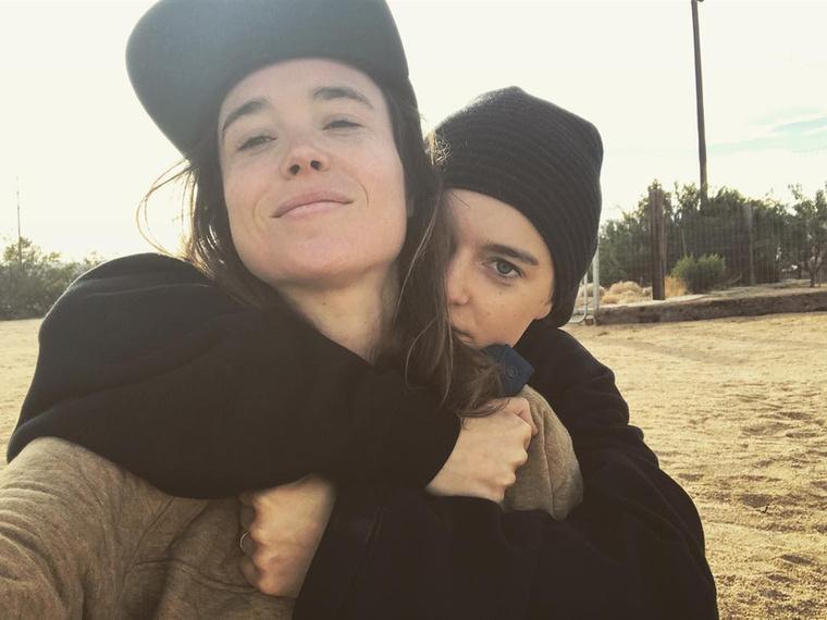 Ellen Page, a Cukorfalat és a Juno színésznője az Instagramján jelentette be 2018 januárjában, hogy összeházasodtak szerelmével, Emma Portner táncosnővel