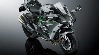 228 lóerőre erősítették az új Kawasaki H2-t