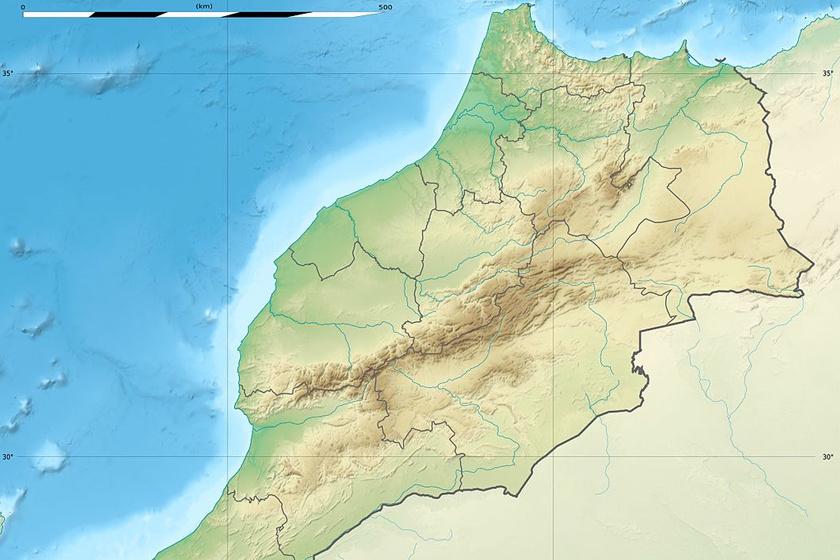 A legidősebb Homo sapiens csontokat a marokkói Jebel Irohud területén találták meg. Állatcsontok is voltak mellettük.
