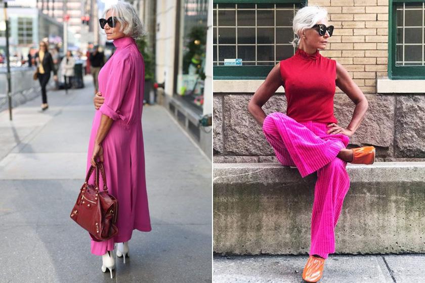 Grece a saját bevallása szerint szeret szórakozásképp tekinteni az öltözködésre, és nem fél a feltűnő színektől. Sokszor visel pinket, ami nemcsak még nőiesebbé teszi, de extra fiatalosnak is mutatja.