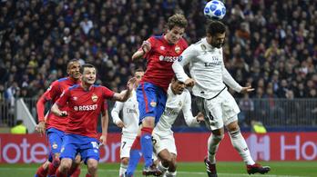 A 64. másodpercben kapott gólt a Real, Mourinho a BL-ben is becsődölt