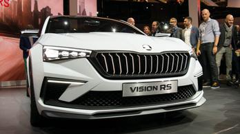 Párizs 2018: Škoda Vision RS