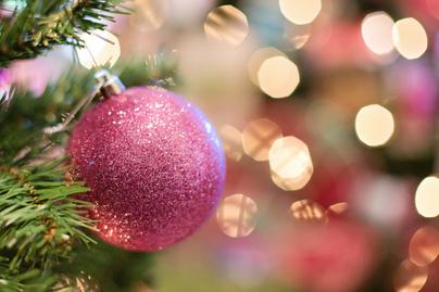 karácsony rózsaszín