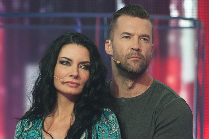 Gregor Bernadett és Szarvas Attila a TV2 Drágám, add az életed! című vetélkedőjében 2016 tavaszán.