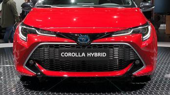 Tízből hat hibrid lesz az új Toyota Corollából