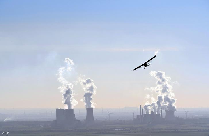 RWE szénerőmű a németországi Dormagenben 2018. szeptember 26-án.