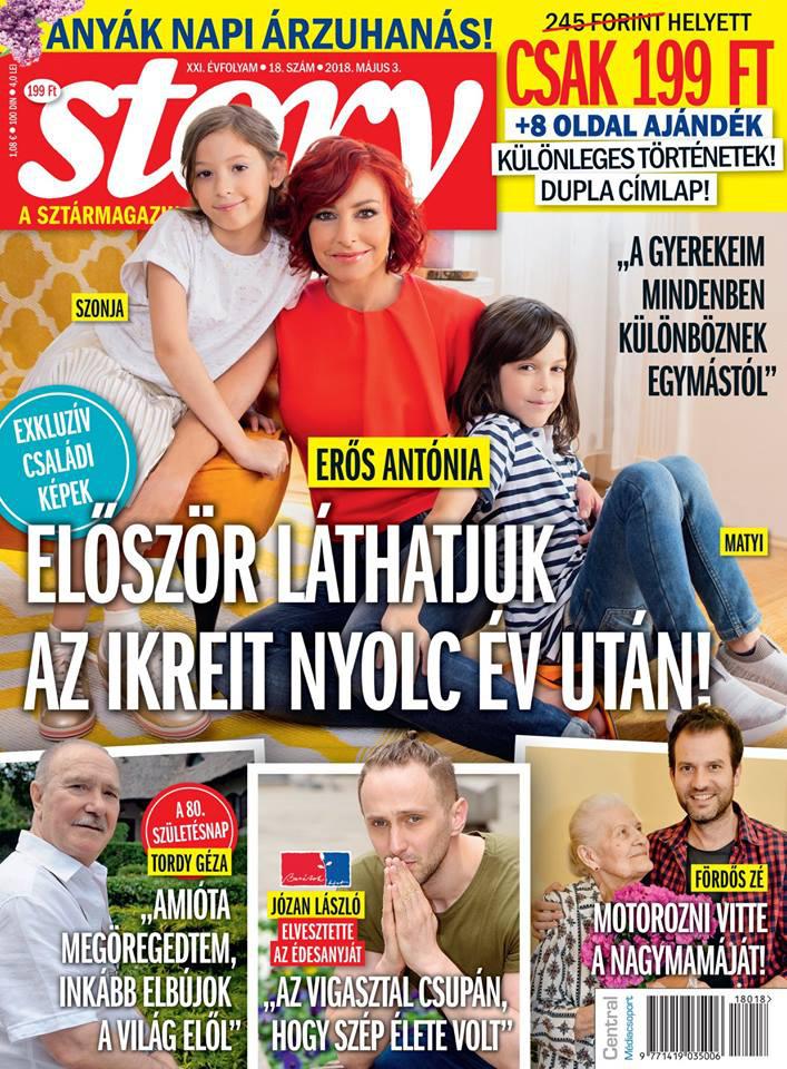 Erős Antónia gyermekei, Szonja és Matyi a nyáron ünnepelték kilencedik szülinapjukat.
