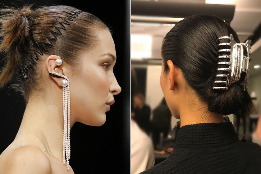 A 90-es években mindenki ilyet tett a hajába, most újra divatos - Így hordd a retró hajdíszeket
