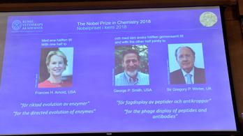 Irányított evolúcióért járt a kémiai Nobel-díj