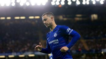 A Chelsea-edző még nem döntött Hazard játékáról a Vidi ellen
