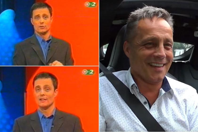 Vízy András 1999 és 2001 között volt a Szerencsekerék műsorvezetője, ennyit változott az évek alatt.