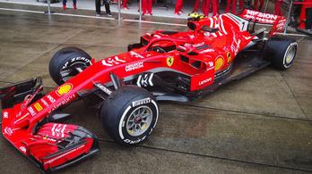 Új festést kap a Ferrari Szuzukától