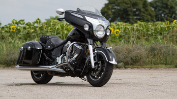 Teszt: Indian Chieftain – 2018.