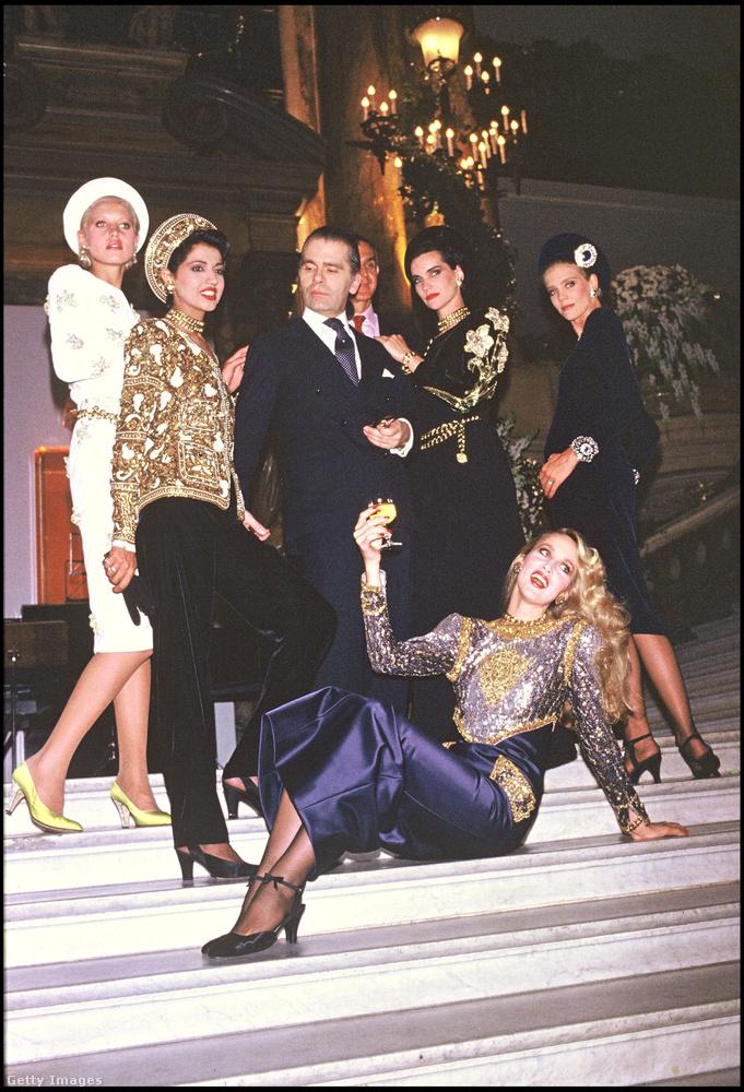 A Vogue magazin saját dokumentumfilmet forgatott róla Lagerfeld Confidential címen