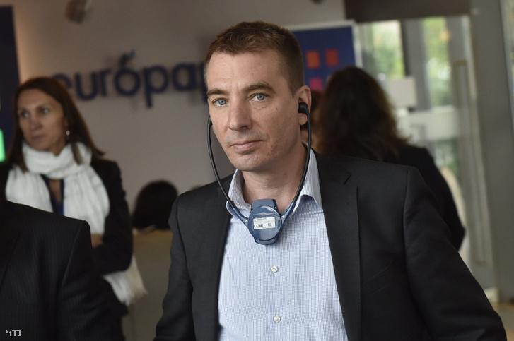 Jávor Benedek, a Párbeszéd európai parlamenti képviselője