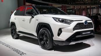Párizs 2018: Toyota RAV4 Hybrid