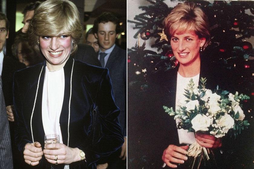 Lady Di az első karácsonyán a királyi családban és az utolsón