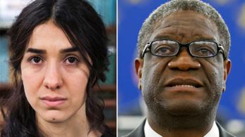 Kongói orvos és jazidi aktivista kapta a Nobel-békedíjat