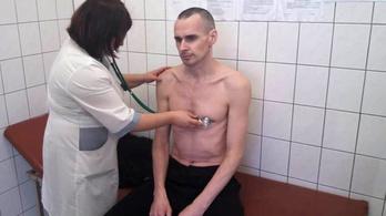 Közel öt hónap után feladta az éhségsztrájkot az ukrán rendező