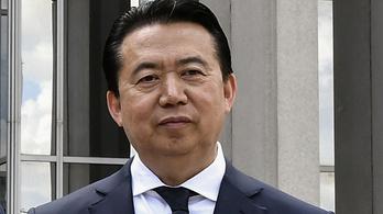 Eltűnt az Interpol vezetője Kínában
