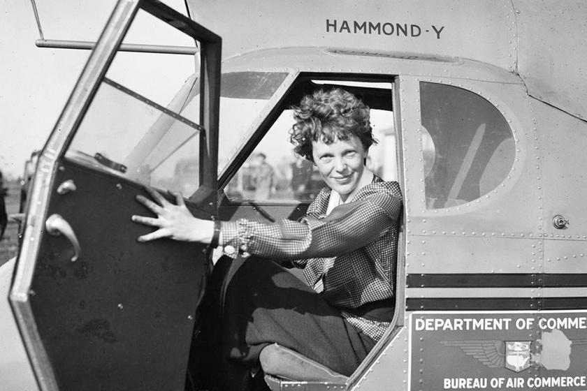 A 15 éves lány hallotta Amelia Earhart utolsó üzenetét: rádiójuk vette tévesen az adást