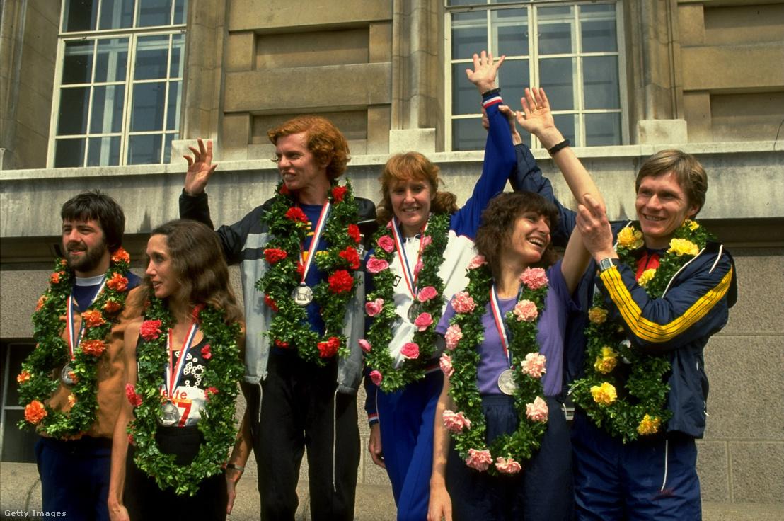 Az 1982-es London Marathont 2:09:24-gyel teljesítette