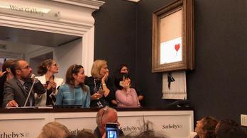 Mesterien trollkodott szét egy millió dolláros aukciót Banksy