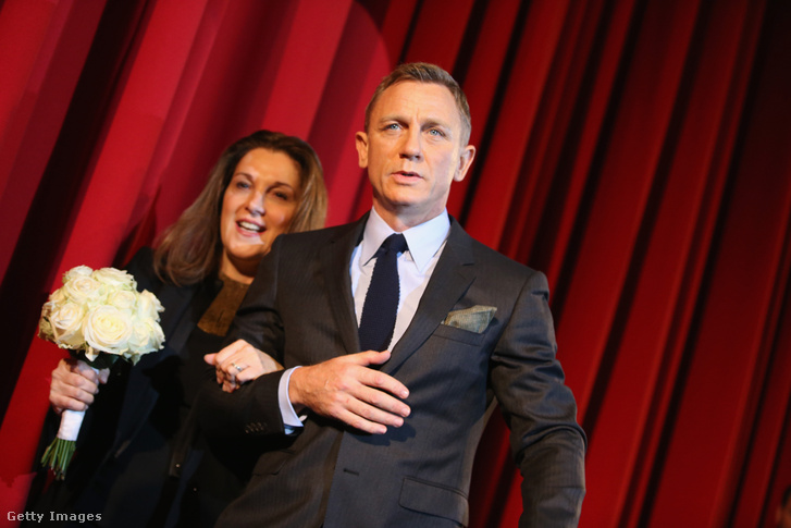Barbara Broccoli és Daniel Craig
