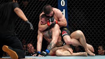 McGregort megsemmisítették, Habib a nézőtéren folytatta a bunyót
