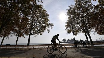 Marad a ragyogóan napos őszi idő