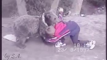Kilencévesen medvével birkózott a McGregort megtörő Habib