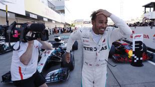 Vettel megint túl bátor volt, már 67 pont Hamilton előnye