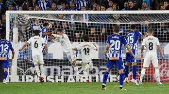 Megint kikapott a Real Madrid