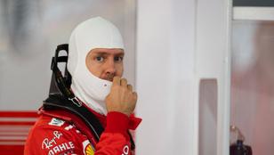 Vettel 1 pontot bukott egy év alatt