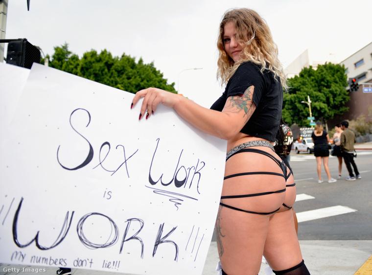 A szexmunkások nevében is jelen volt valaki: azt mondja, ez a munka is csak munka.