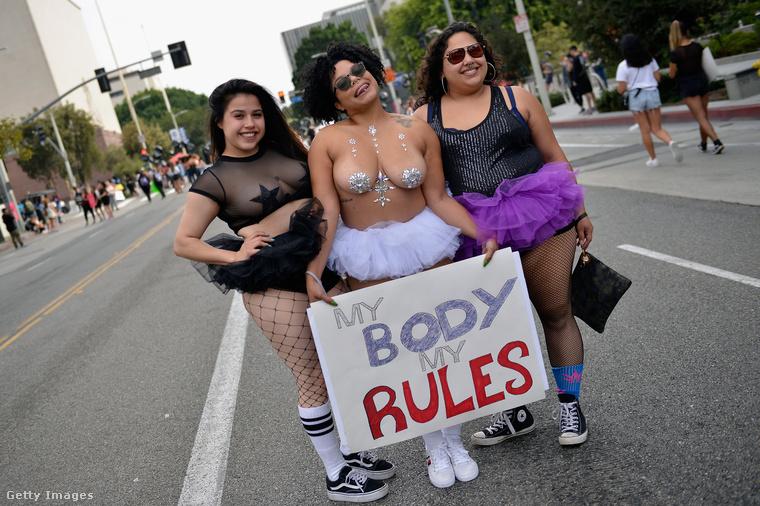 Ők szintén amellett állnak ki teljes mellszélességgel, hogy a saját testükkel kapcsolatban minden döntés az övék.