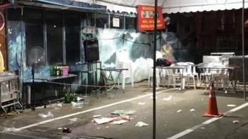 Lövöldözés volt egy bangkoki plázában, egy turista meghalt