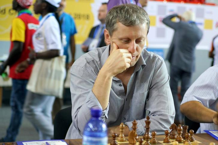 Almási Zoltán a 2018-as sakkolimpián