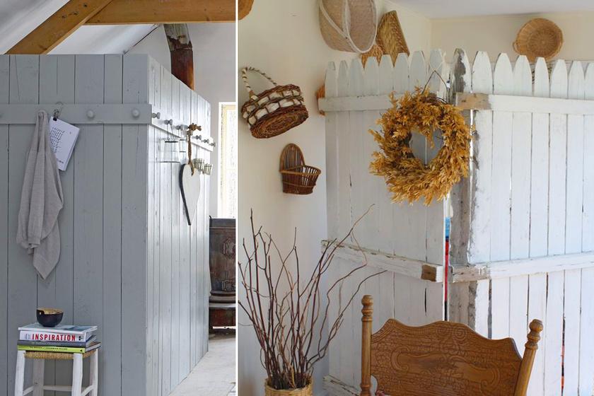 Egyszerű szekrénynek látszik, pedig egy kazán bújik meg benne: így rejtsd el a háztartási gépeket ötletesen