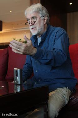 James V. Hart forgatókönyvíró (fotók: Barakonyi Szabolcs)