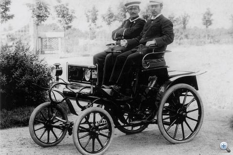 Az első Lutzmann-Opel 1899-ből