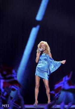 Wolf Kati Szerelem, miért múlsz című számát énekli az Eurovíziós Dalverseny első elődöntőjében