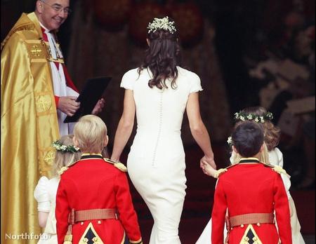 Pippa Middleton hátulról