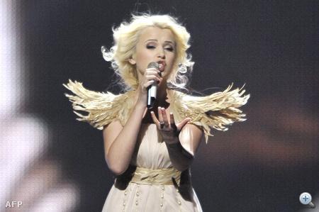 "23. Ukrajna - Mika Newton: ""Angel"""
