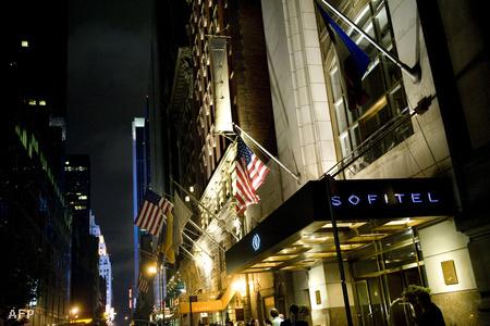 A Times Square mellett található Sofitel hotel